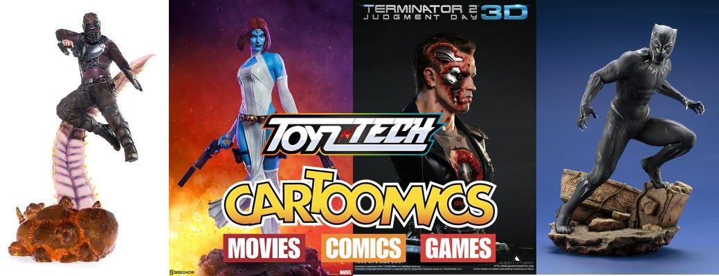 Toyzntech a Cartoomics 2019.