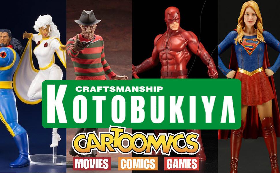 Kotobukiya al Cartoomics 2019