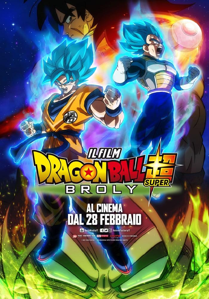 Dragonball Super Broly, un successo senza precedenti!