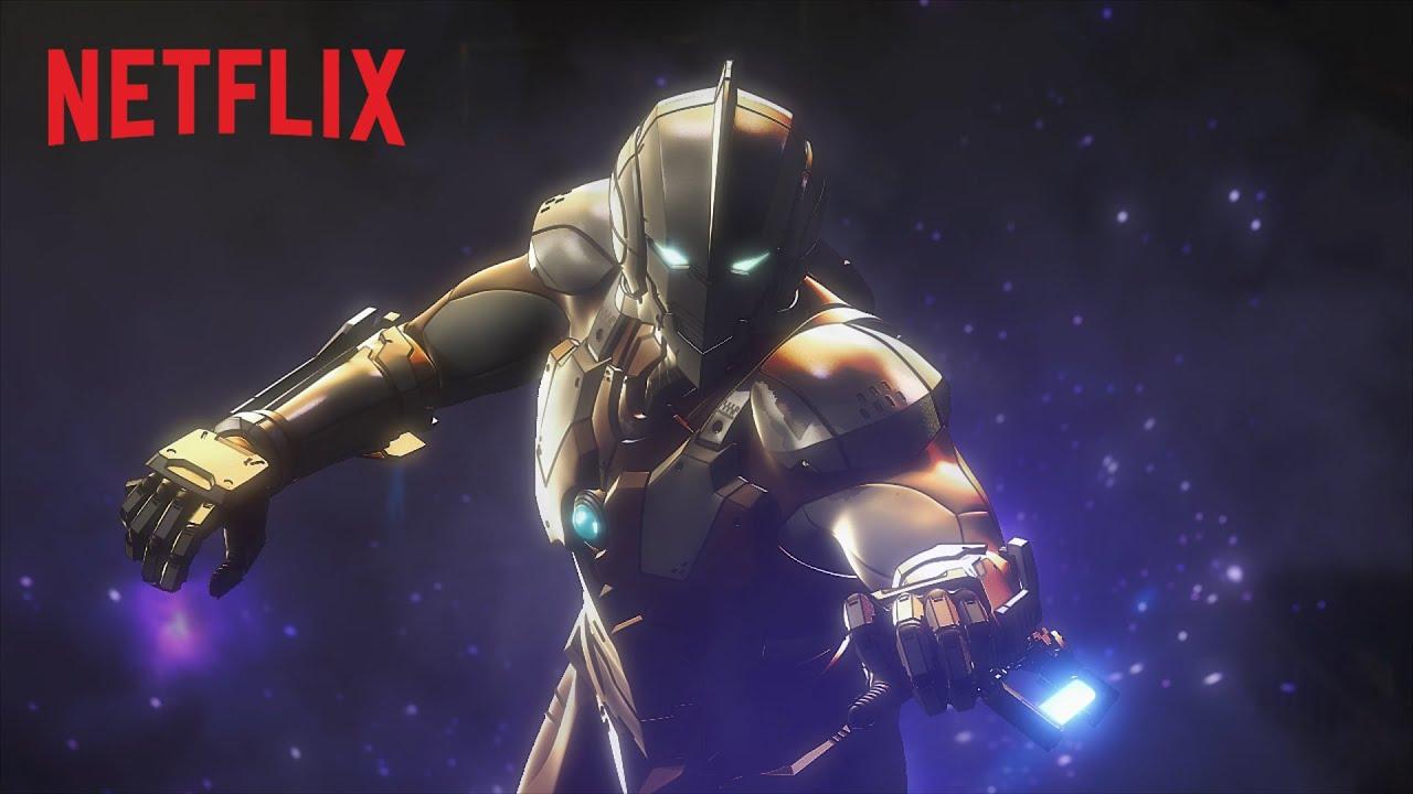 Ultraman: trailer, poster e foto svelate da Netflix