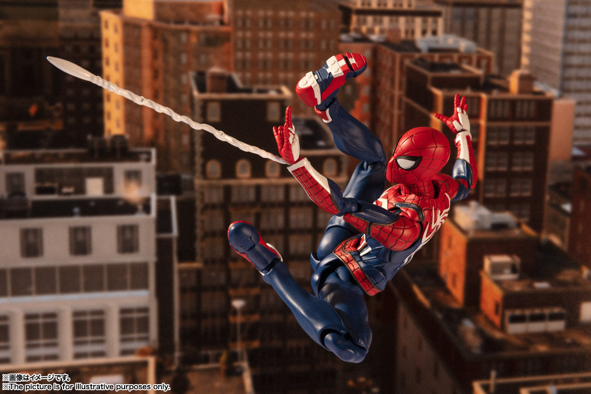 S.H. Figuarts Spider-Man ( videogame version )