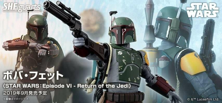 S.H. Figuarts – Boba Fett – Star Wars ep. VI – Return of the Jedi
