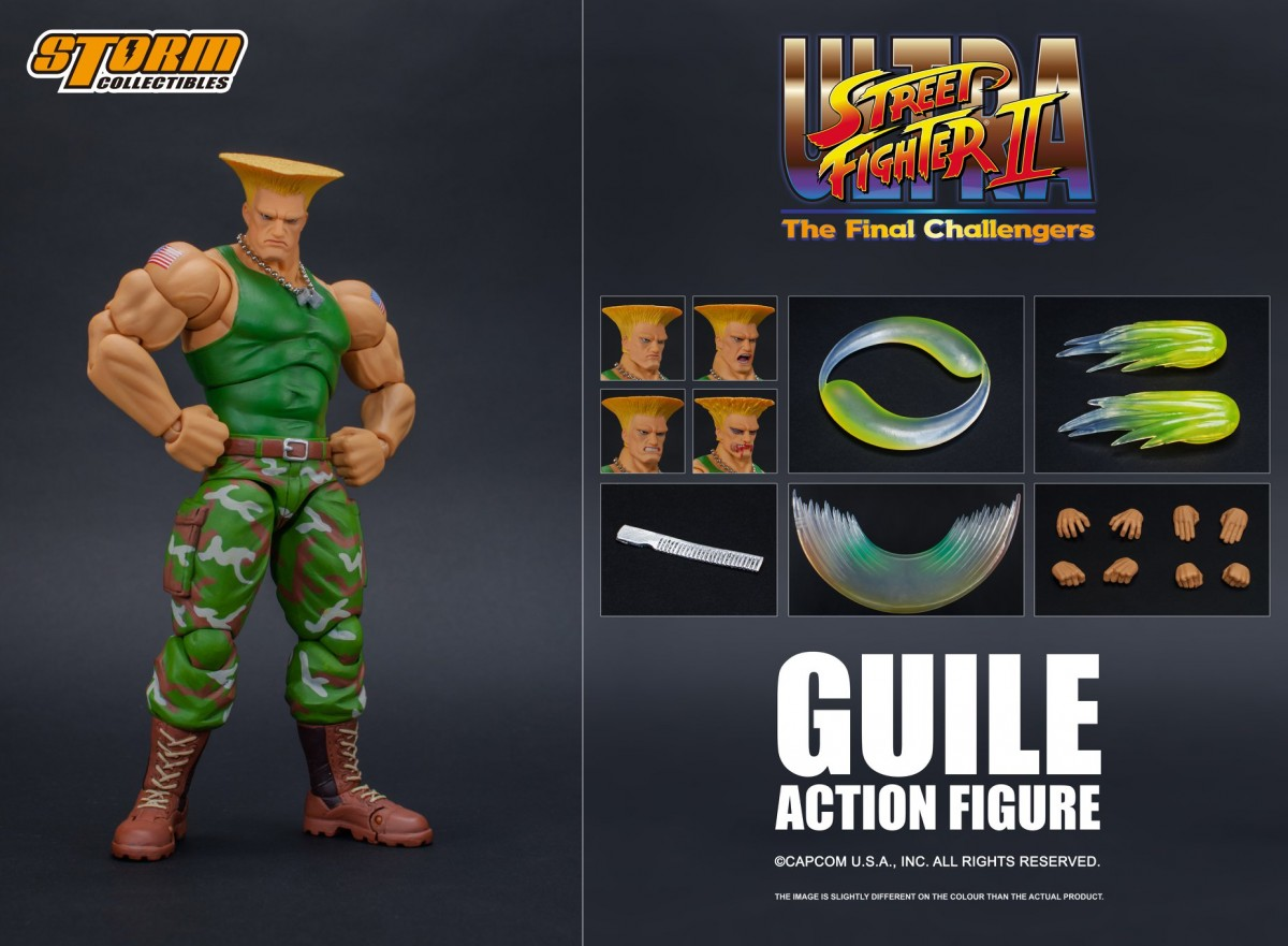 Storm Collectibles: Guile da Ultra Street Fighter II