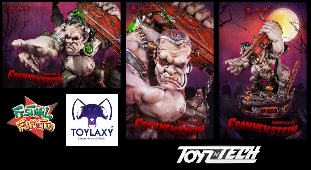 Toylax in mostra al Festival del Fumetto