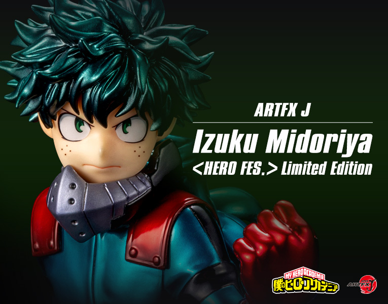 Kotobukiya Artfx J Izuku Midoriya da My Hero Academia Recolor