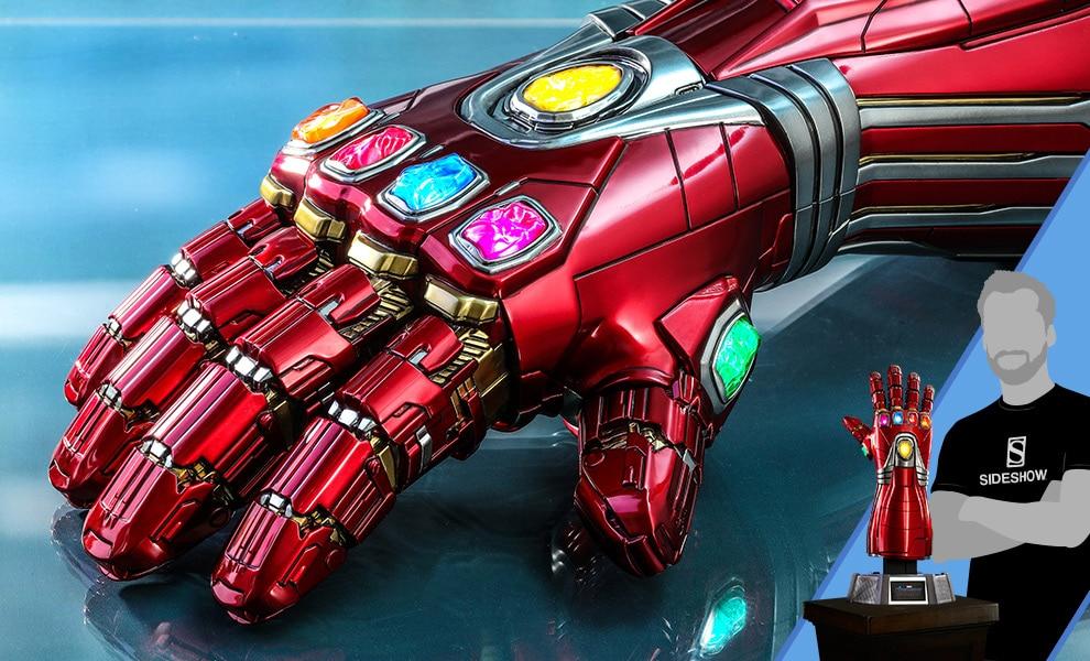 Hot Toys presenta la replica 1:1 del Nano Gauntlet creato da Tony