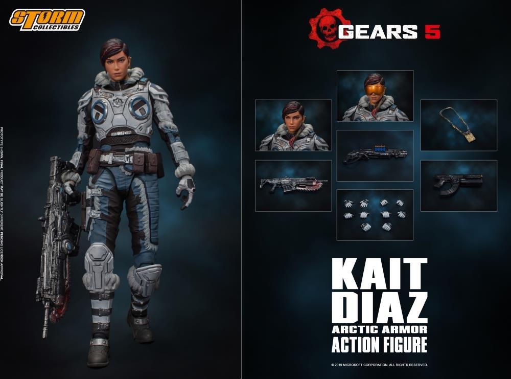Kait Diaz Arctic Armor ( Gears 5 ) da Storm Collectibles