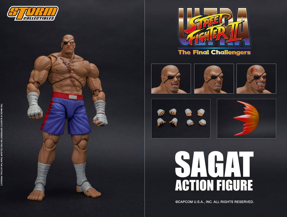 Sagat ( Ultra Street Fighter II ) da Storm Collectibles