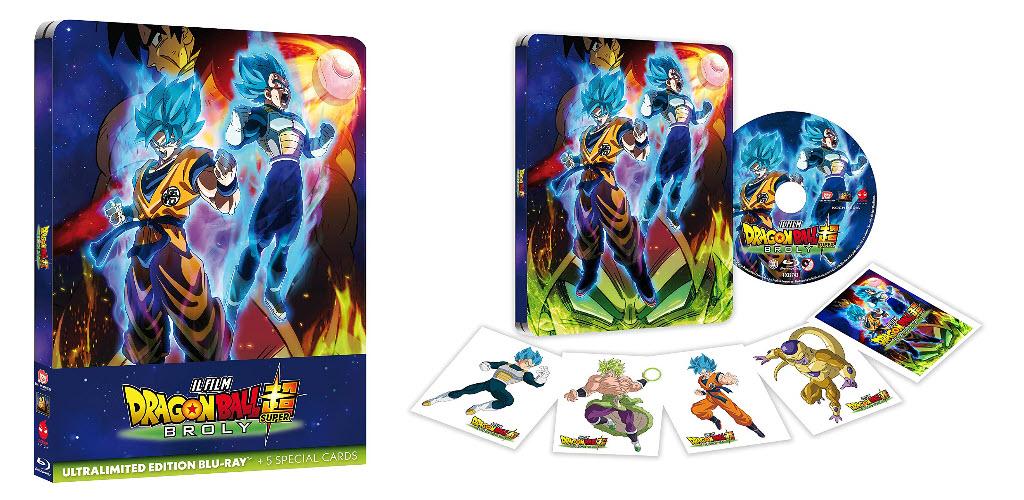 La Steelbox di Dragon Ball Super: Broly è il titolo più venduto della settimana