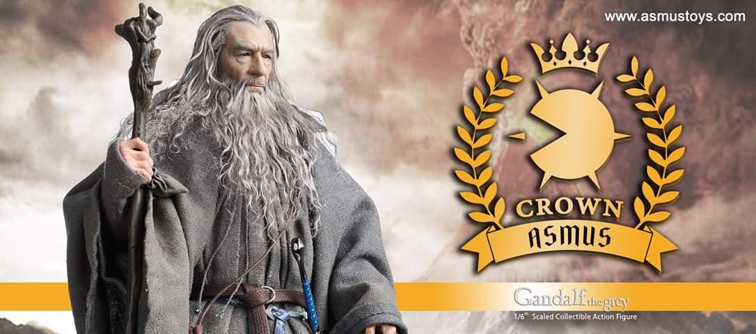 """Asmus Toys annuncia la nuova linea """"Crown"""" partendo da Gandalf il Grigio"""