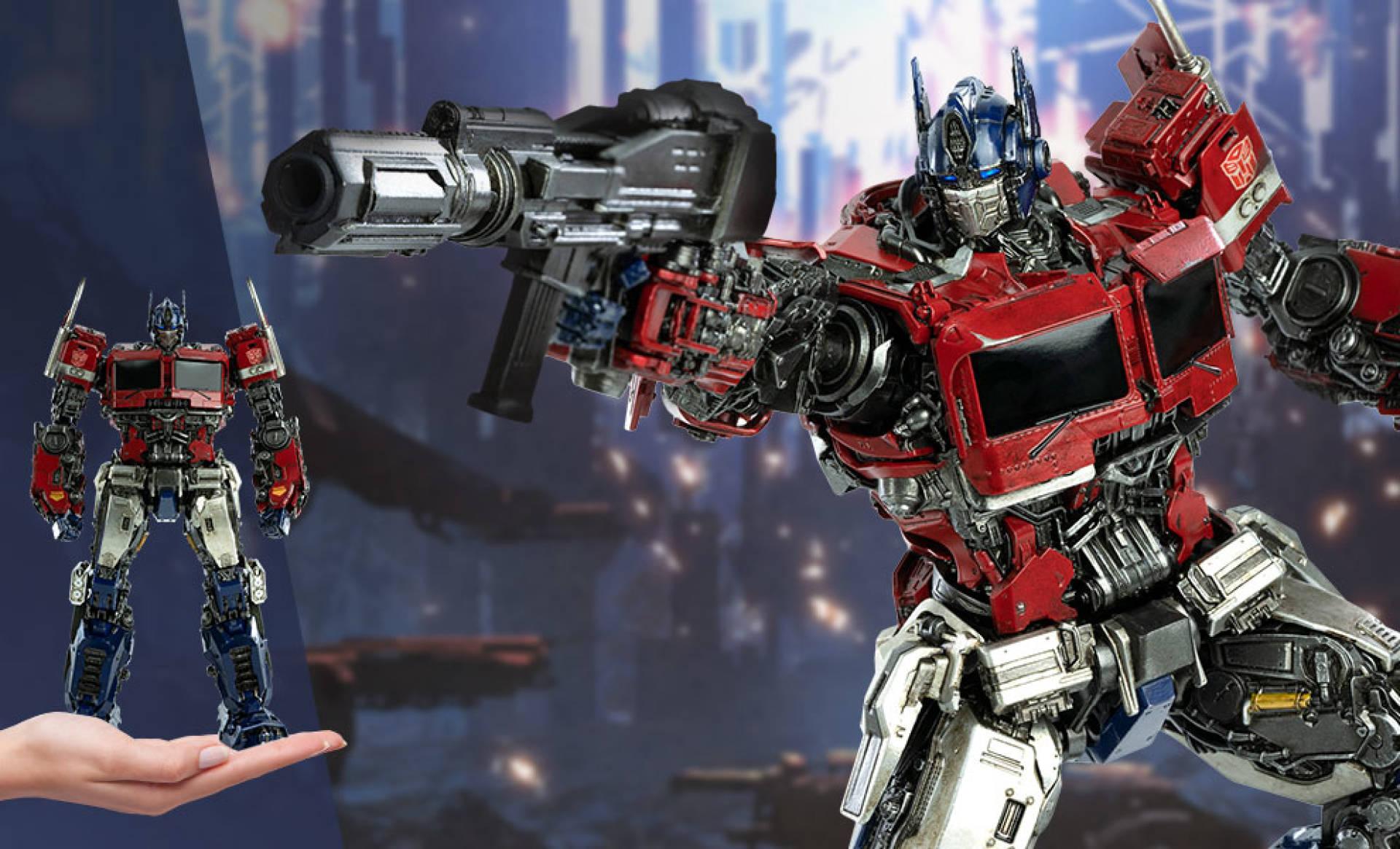 Optimus Prime (Bumblebee Movie) Collectible Figure di ThreeA