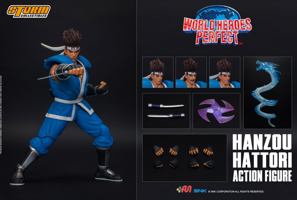 Hanzou Hattori ( World Heroes Perfect ) da Storm Collectibles