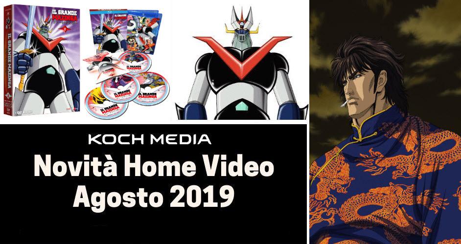 Anime Factory: Le novità Home Video di agosto 2019