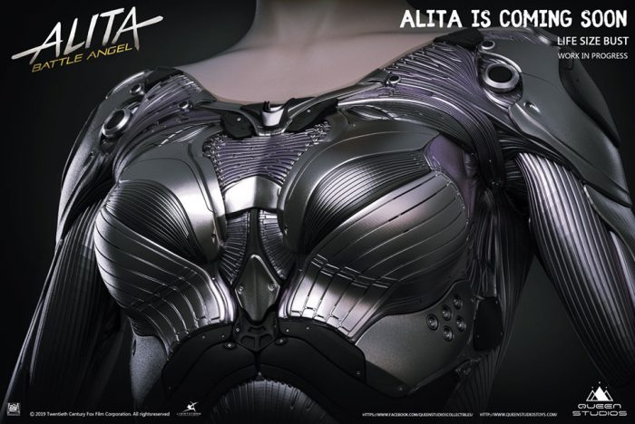 Alita Battle Angel il nuovo busto dalla Queen Studios