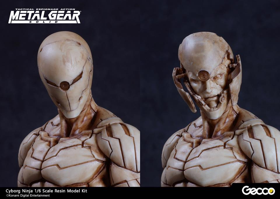 Gecco: Cyborg Ninja 1/6 Scale Resin Model Kit da MGS