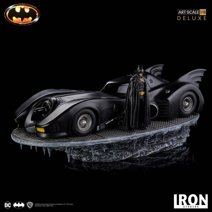 Iron Studios: Batmobile dal film dell'89