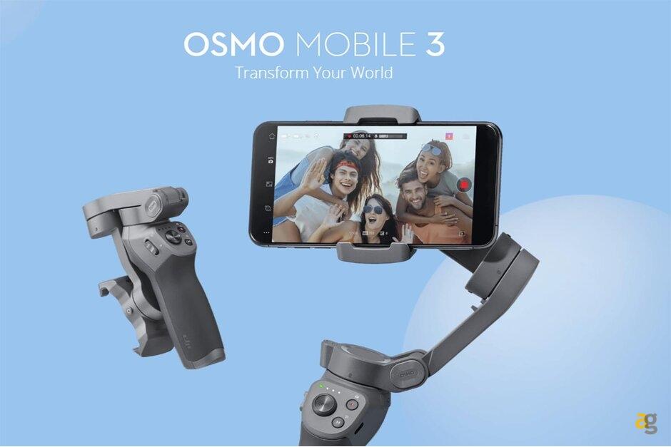 DJI annuncia il nuovo Osmo Mobile 3