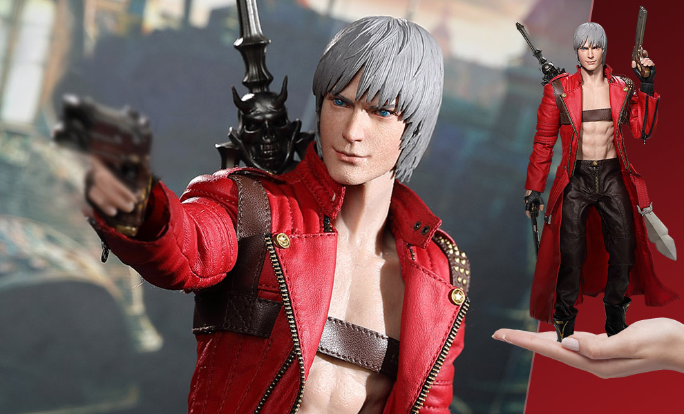 Devil May Cry 3, Asmus Toys presenta un nuovo Dante