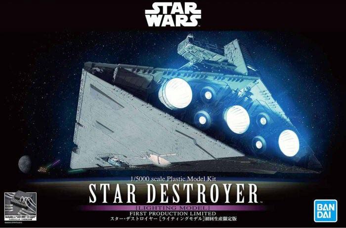Da Bandai il model kit dello Star Destroyer