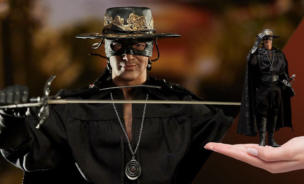Da Blitzway una figure dedicata a Zorro dal film del 1998