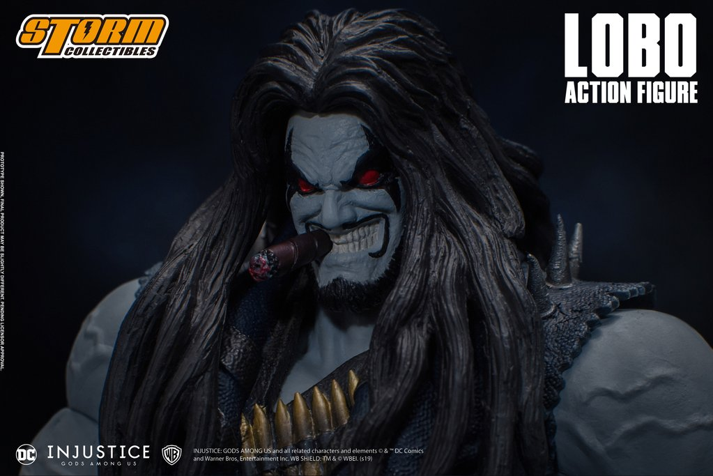 Lobo (Injustice Gods Among Us) da Storm Collectibles