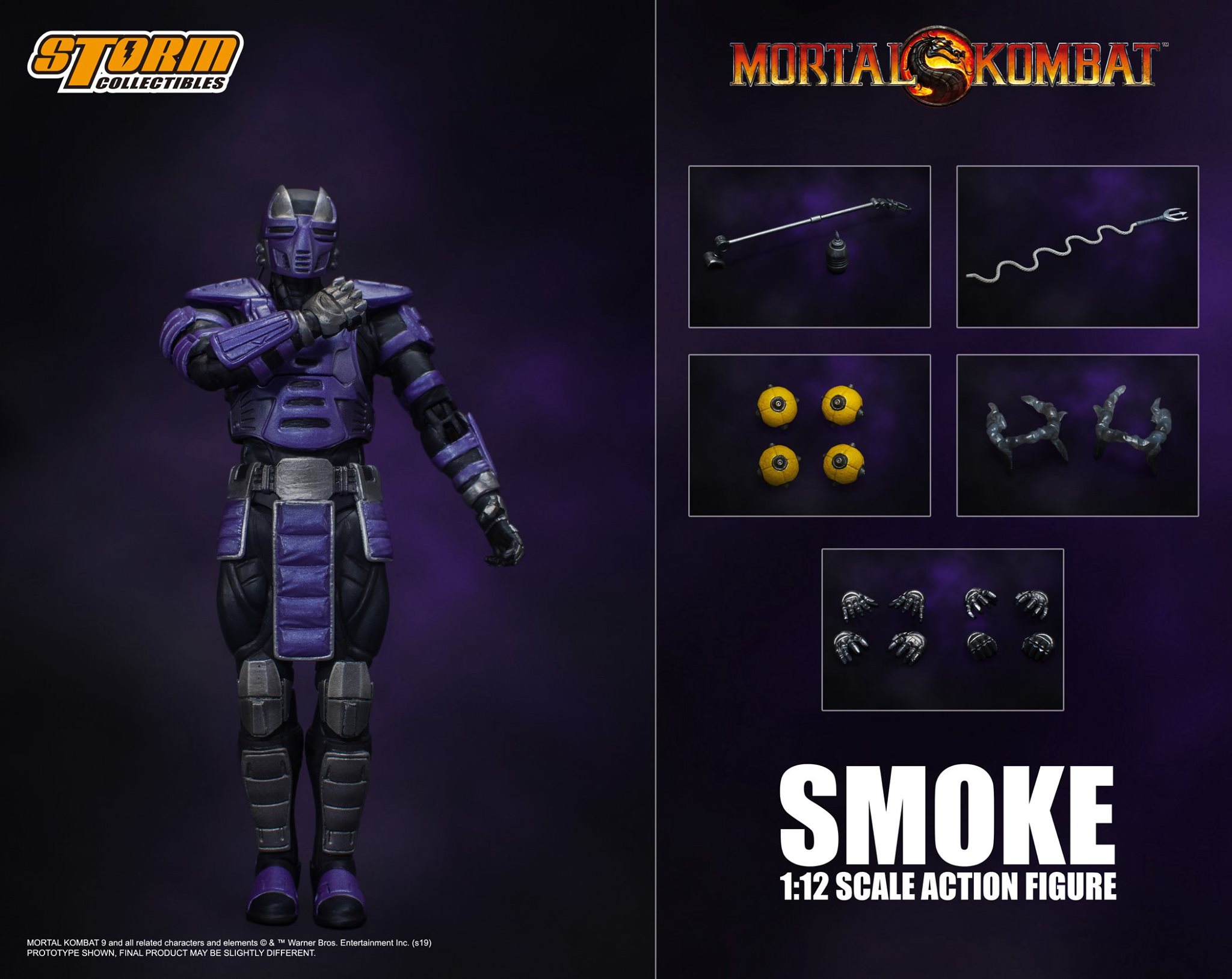 Smoke da Mortal Kombat – Storm Collectibles