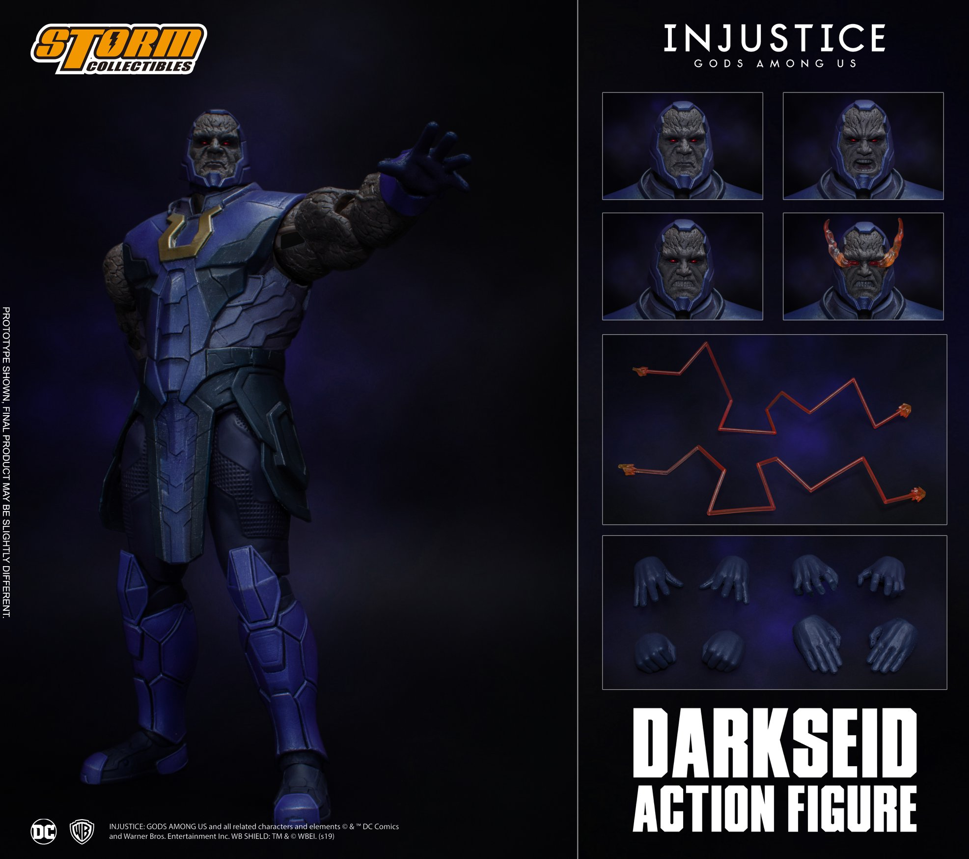 Darkseid (Injustice Gods Among Us) da Storm Collectibles