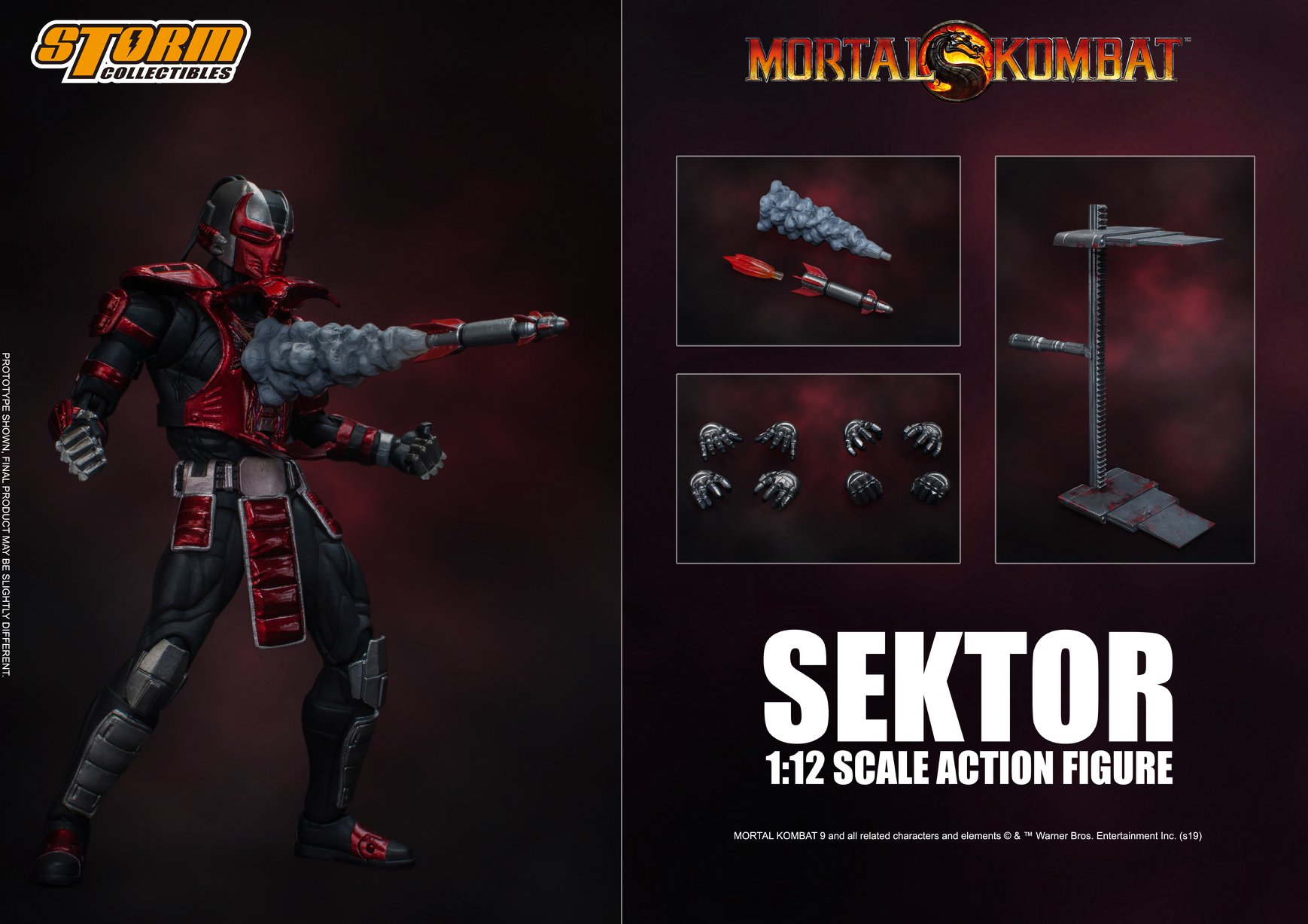 Sektor (Mortal Kombat) da Storm Collectibles