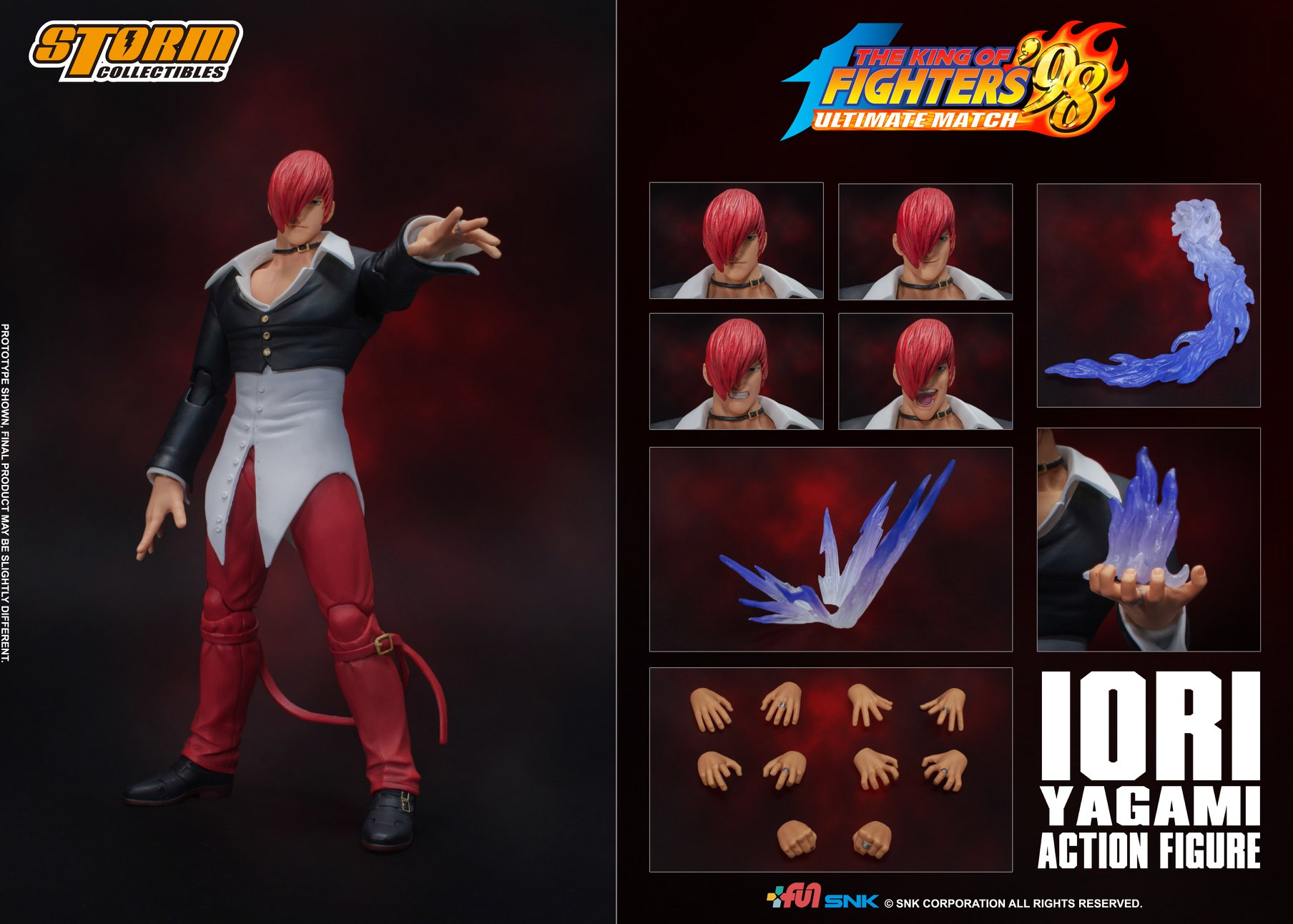 Iori Yagrami (King of Fighters 98) da Storm Collectibles