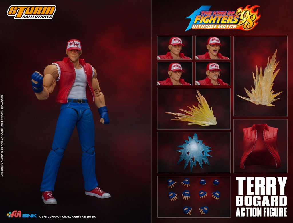 Terry Bogard (King of Fighters 98) da Storm Collectibles