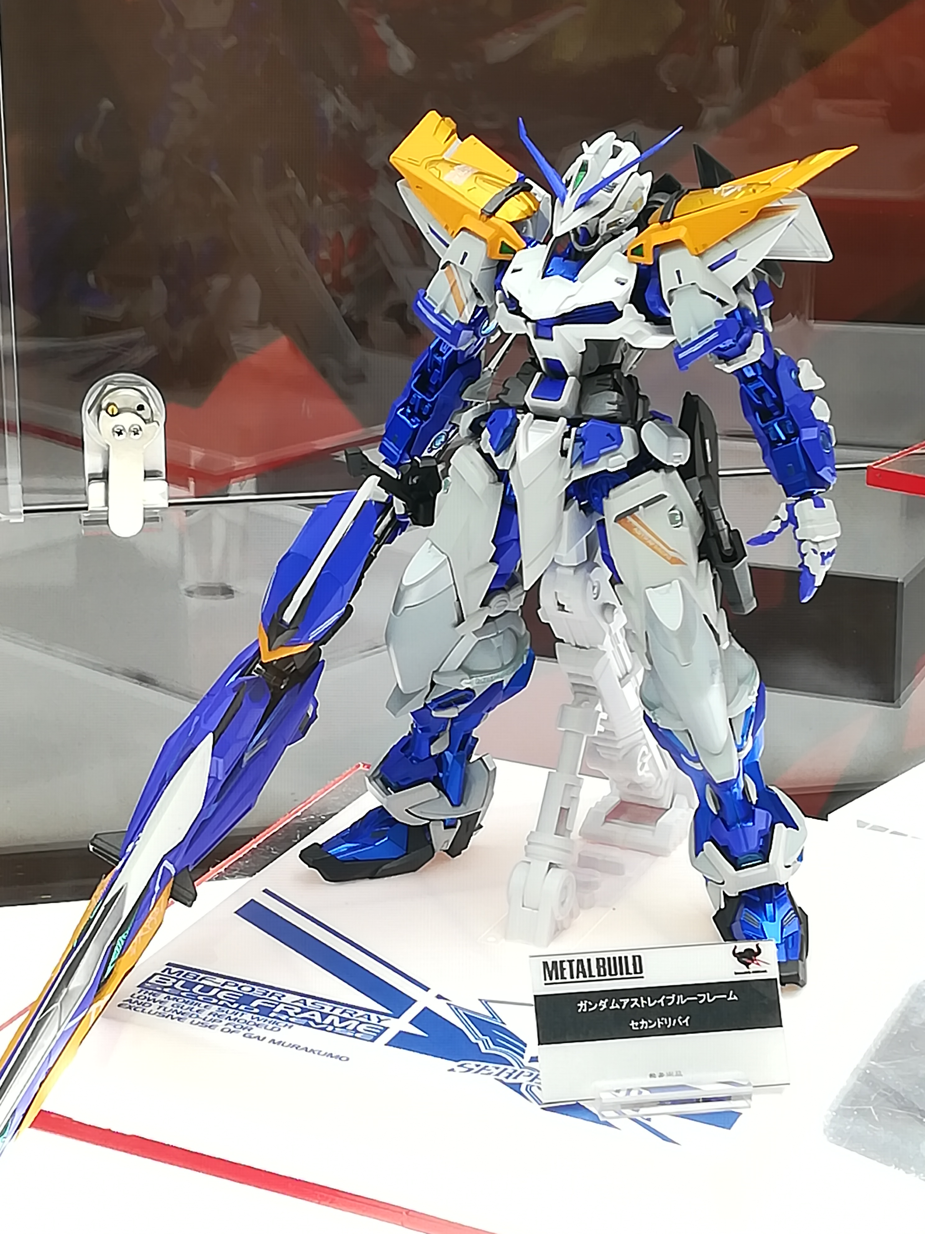 Gundam Astray Blue Frame Second Revise – Metal Build (Prime Immagini)