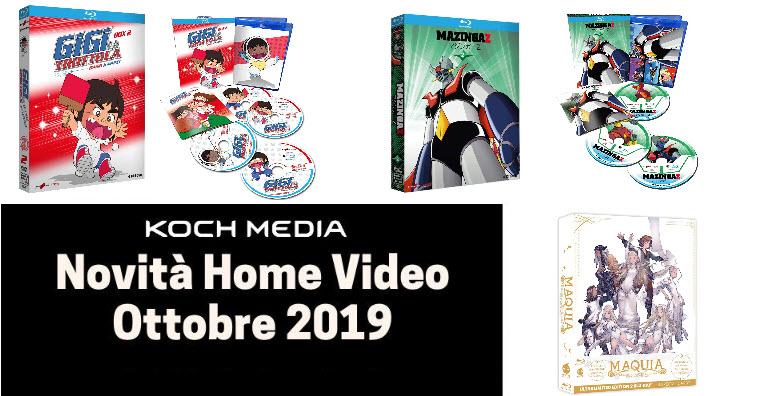 Anime Factory: Le novità Home Video di ottobre 2019