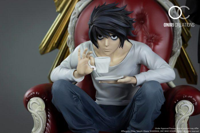Oniri Créations presenta L & Watari 1/6 (Death Note)