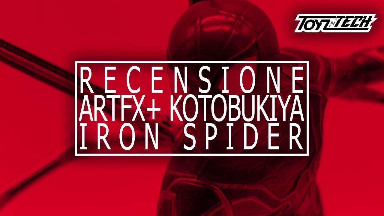 Iron Spider Artfx+ -Videorecensione