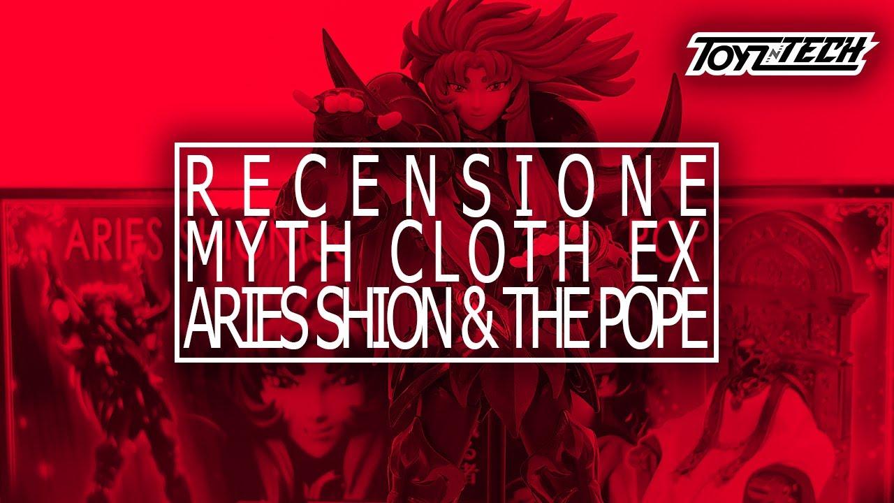 Aries Shion (Surplice) & The Pope – Myth Cloth EX