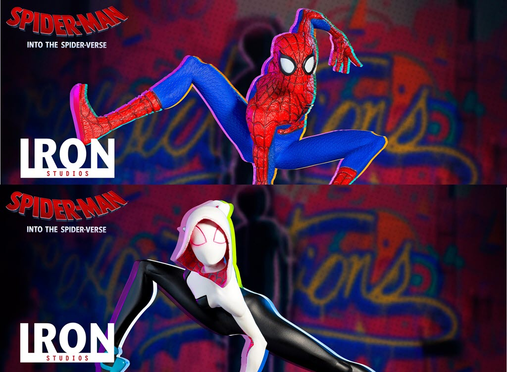 Iron Studios: Spider-man & Spider-Gwen