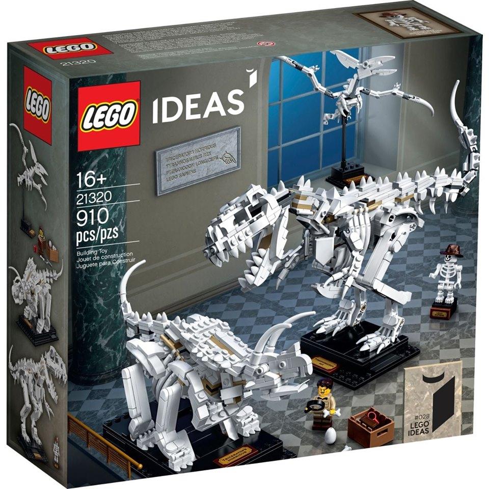 LEGO Ideas 21320 Dinosaurs Fossils