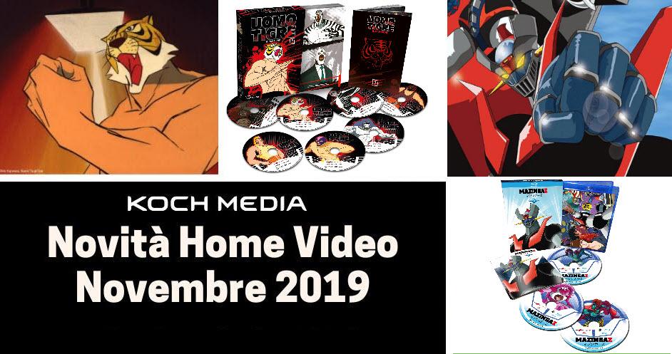 Anime Factory: Le novità Home Video di novembre 2019