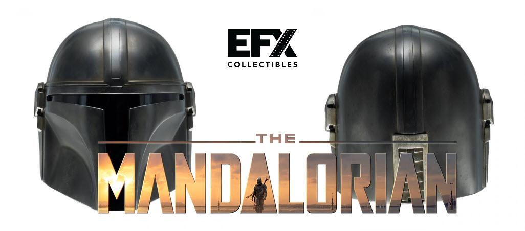 EFX Collectibles presenta  The Mandalorian: Helmet Replica 1/1