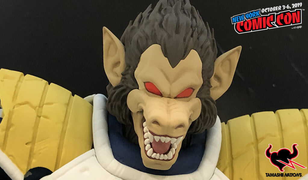 NYCC19: Great Ape Vegeta S.H. Figuarts