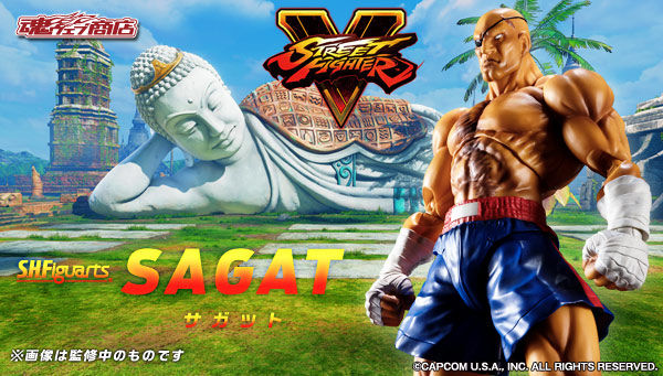 Sagat da Street Fighter V S.H.Figuarts di Tamashii Nations