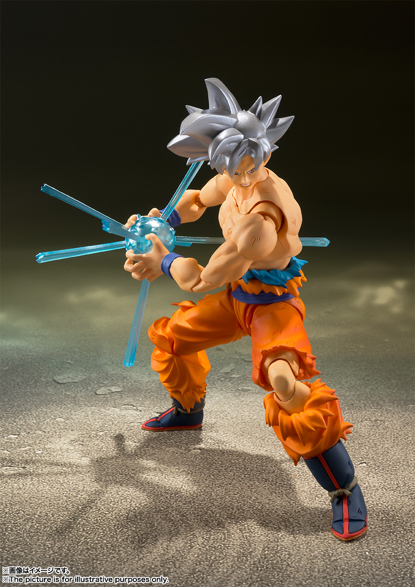 Son Goku Ultra Istinto S.H.Figuarts di Tamashii Nations