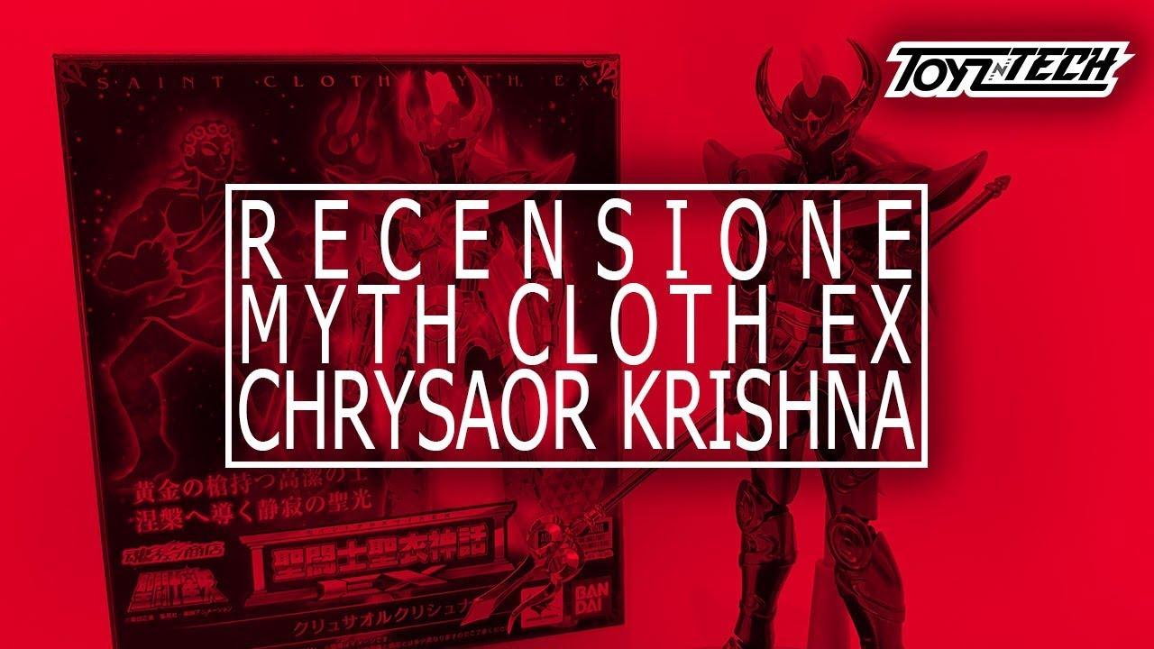 Chrysaor Krishna – Myth Cloth EX di Tamashii Nations – Recensione