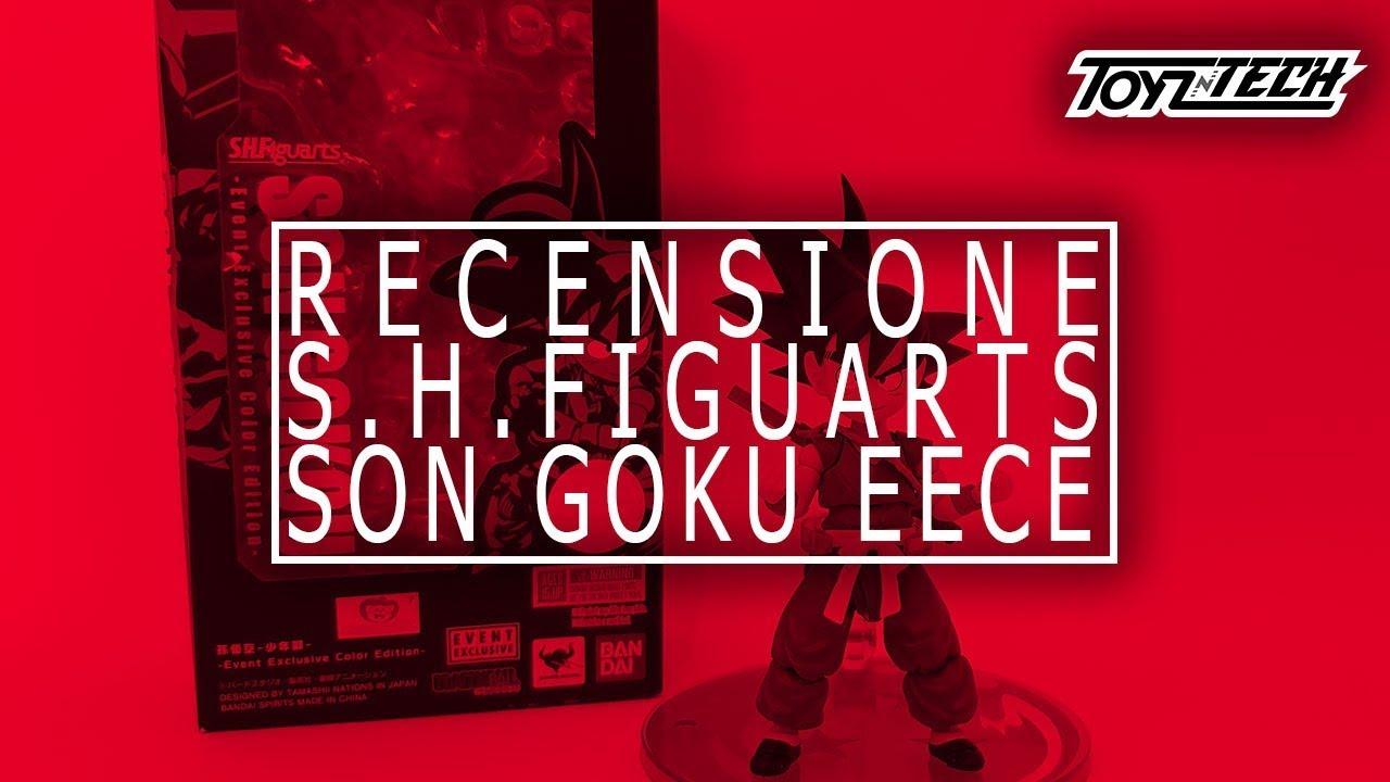 Son Goku (EECE) S.H.Figuarts di Tamashii Nations – Recensione
