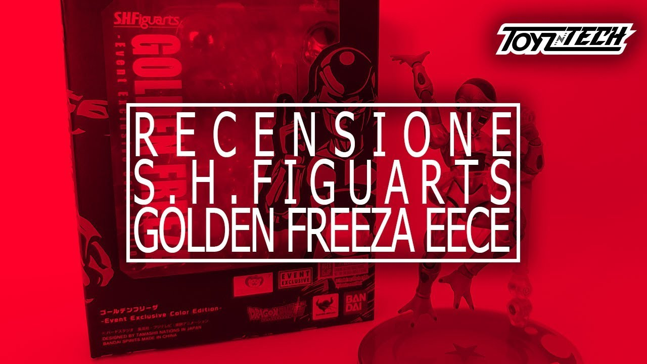 Golden Freeza (EECE) S.H.Figuarts di Tamashii Nations – Recensione