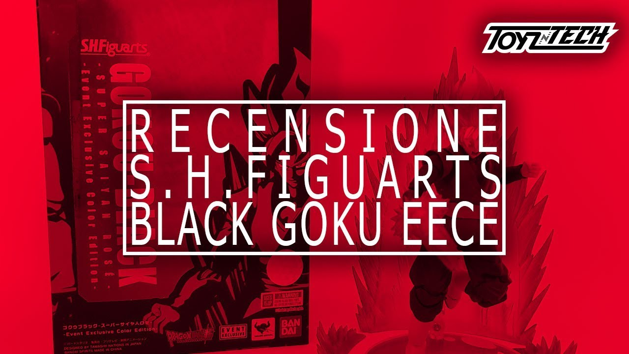 Black Goku Rose EECE – S.H. Figuarts di Tamashii Nations – Recensione