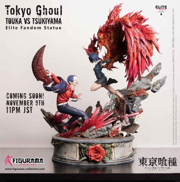 Figurama Collectors: Touka VS Tsukiyama Elitè Fandom Statue