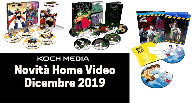 Anime Factory: Le novità Home Video di dicembre 2019