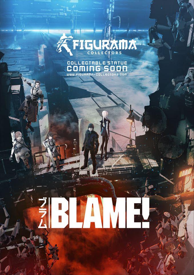 Figurama Collectors annuncia la licenza di Blame!