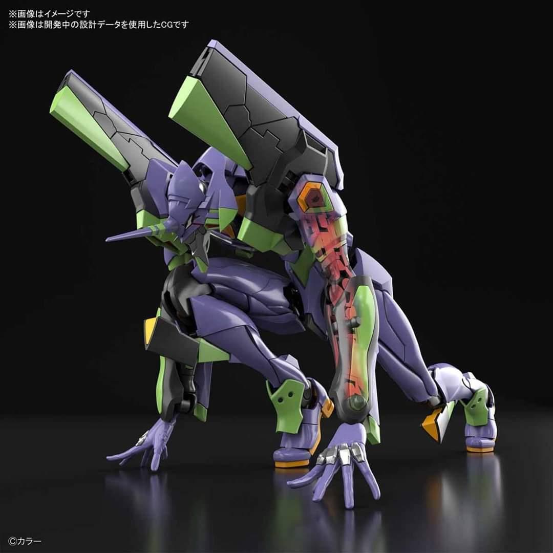 Evangelion, in arrivo il model kit dell'Eva 01 RG